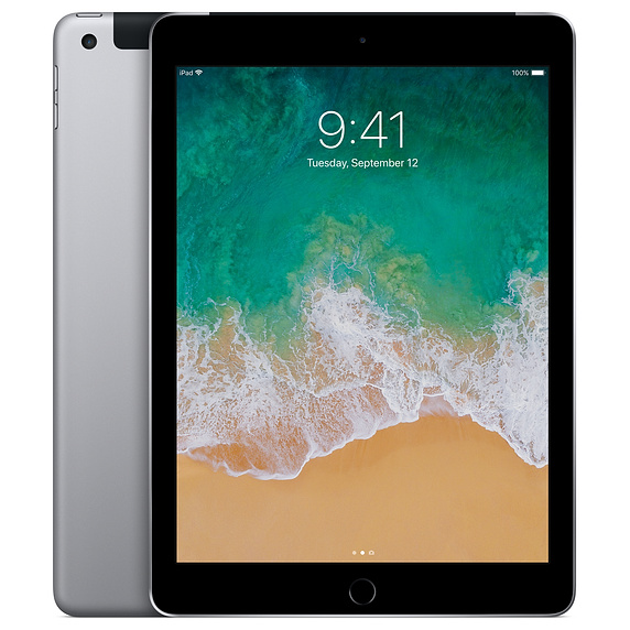 iPad Wi-Fi + Cellular 128GB - Silver (MR732ZA/A)
