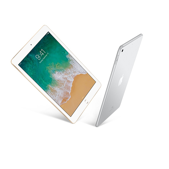iPad Wi-Fi 128GB - Silver (MR7K2ZA/A)