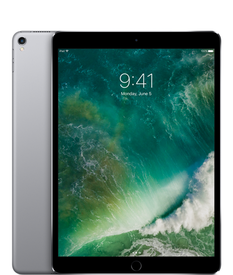 10.5-inch iPad Pro Wi-Fi + Cellular 64GB - Space Grey (MQEY2ZA/A)