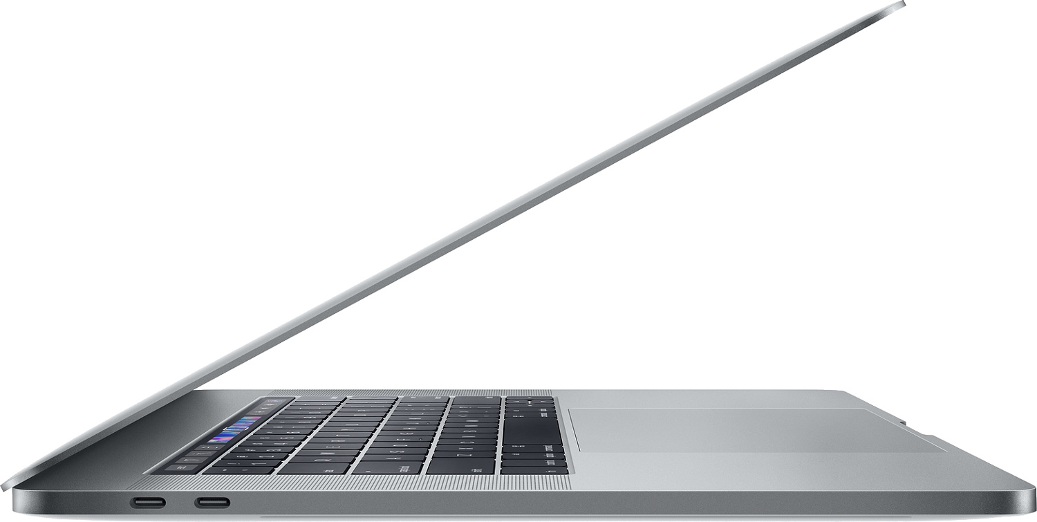 15-inch MacBook Pro with Touch Bar: 2.2GHz 6-core 8th-generation Intel Core i7 processor, 256GB - Silver(MR962SA/A)
