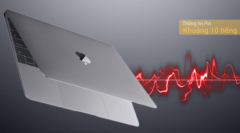 Macbook 12-inch MacBook: 1.2GHz dual-core Intel Core m3, 256GB - Space Grey(MNYF2SA/A)