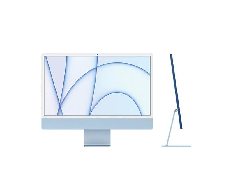 Máy tính All in One Apple iMac 24inch M1 MJV93SA/A 256GB - Blue Chính hãng
