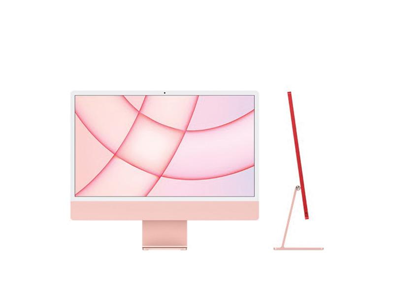 Máy tính All in One Apple iMac 24inch M1 MJVA3SA/A 256GB - Pink Chính hãng