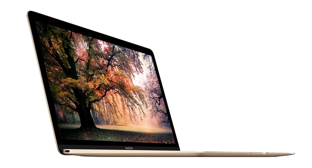 Macbook 12-inch MacBook: 1.2GHz dual-core Intel Core m3, 256GB - Gold(MNYK2SA/A)
