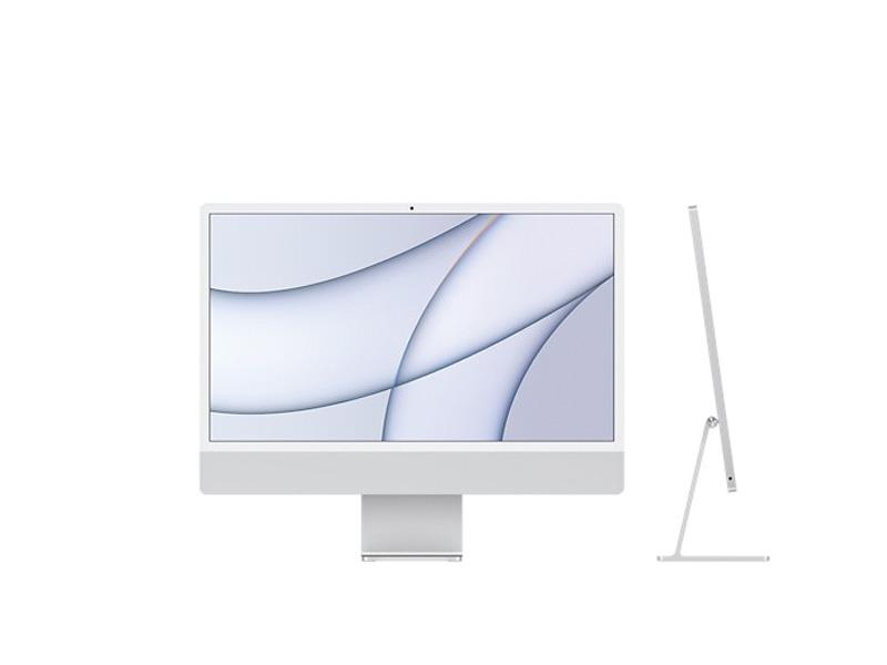 Máy tính All in One Apple iMac 24inch M1 MGTF3SA/A 256GB - Silver Chính hãng