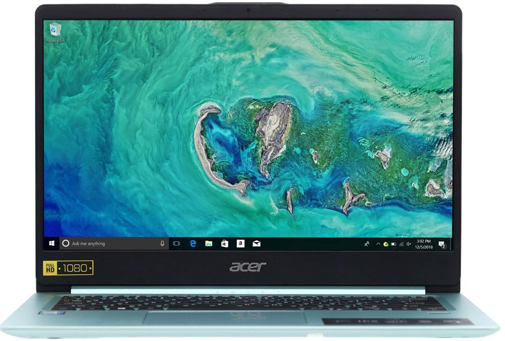 Máy tính xách tay Acer Swift 1 SF114 32 P2SG N5000/4GB/64GB/Win10 (NX.GZJSV.001)