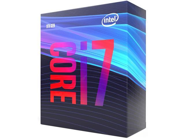 Intel® Core™ i7 - 9700K 3.6GHz (Max Turbo 4.9 Ghz)  / (8/12) / 12MB / Intel® UHD Graphics 630