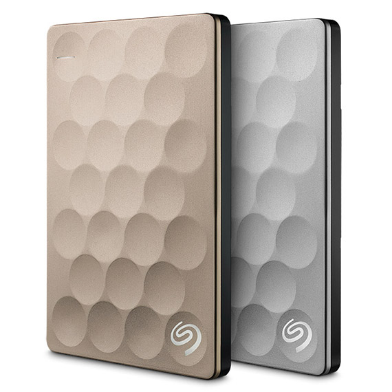 Seagate® Backup Plus Portable Drive 1TB Ultra Slim Silver NEW!