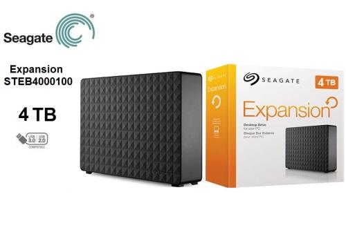 Seagate® Expansion Desktop Drive 4TB