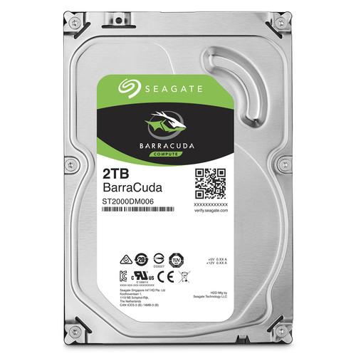 Ổ cứng gắn trong Seagate BarraCuda 2TB 7200rpm SATA 3.5