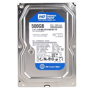 WD Blue 500 GB, 2,5