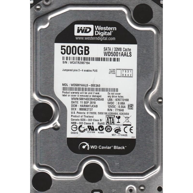 WD HDD Black 500GB 2.5