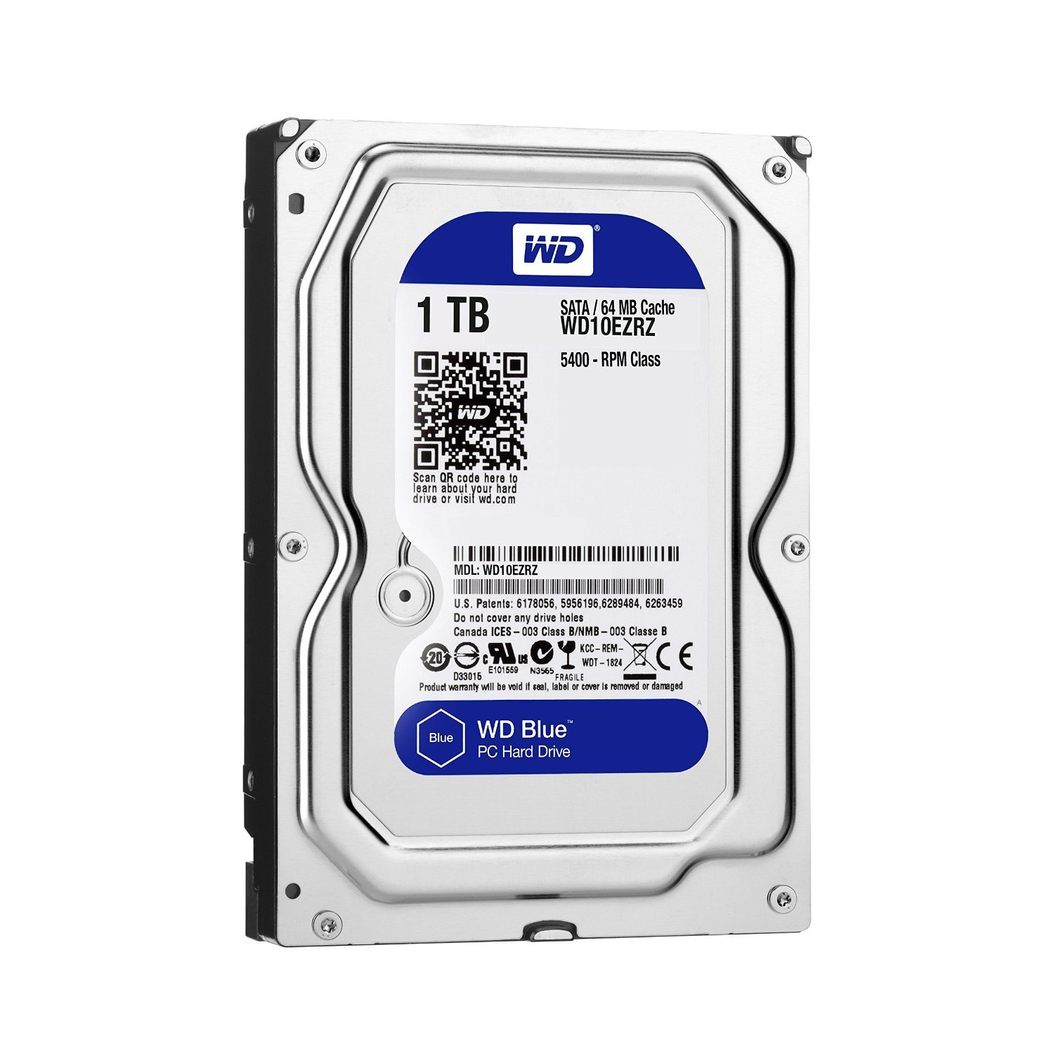 WD HDD Blue 1TB 3.5
