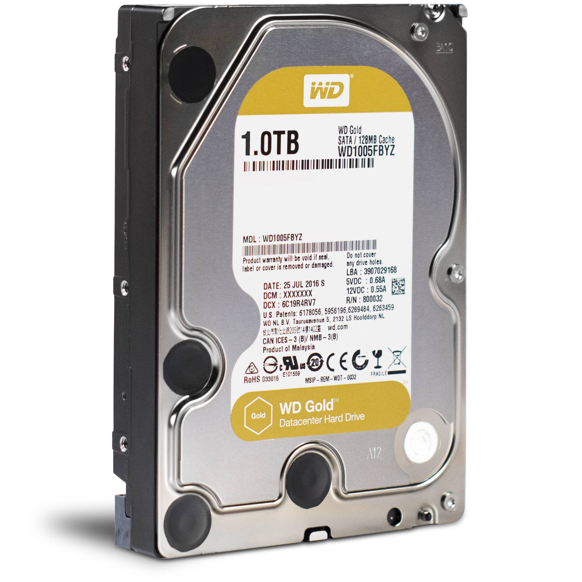 WD HDD GOLD 1TB /3.5