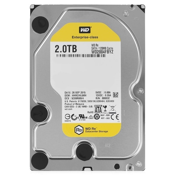 WD HDD GOLD 2TB /3.5