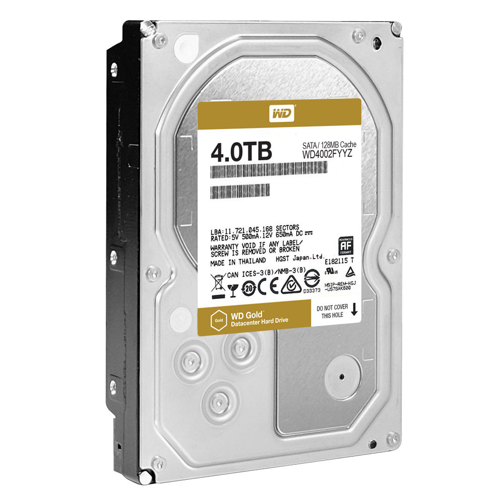 WD HDD GOLD 4TB /3.5
