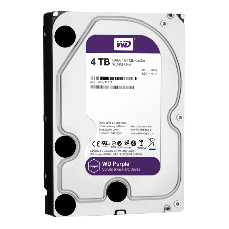 WD HDD Purple 4TB 3.5
