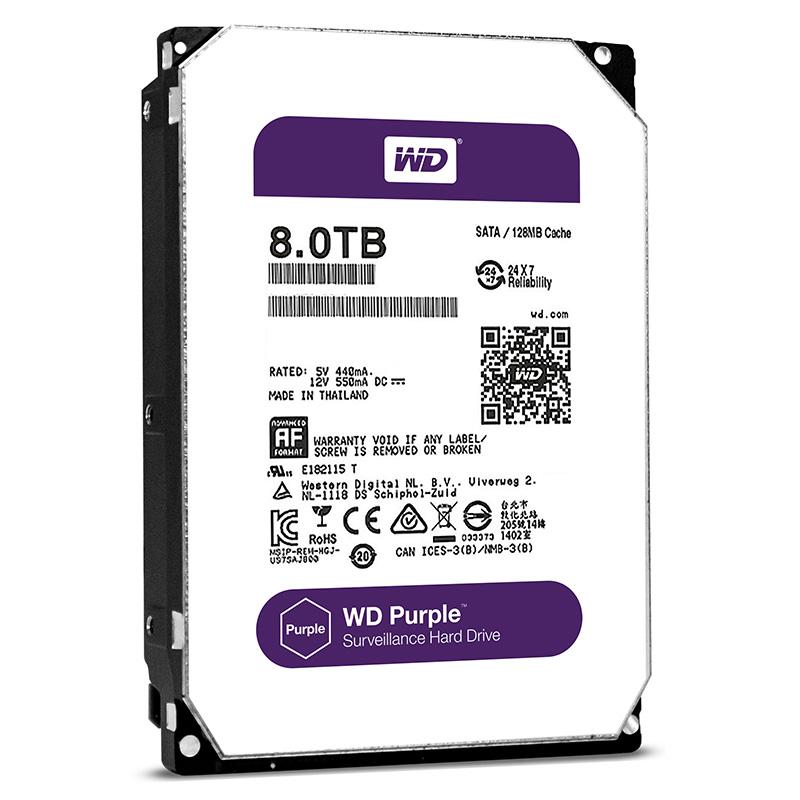 WD HDD Purple 8TB 3.5