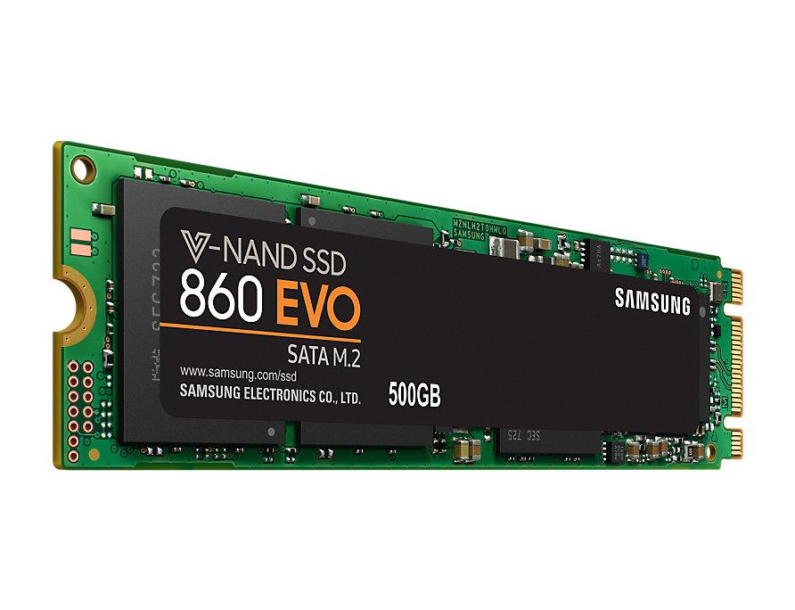 Samsung SSD 860EVO - 500GB - M2 2280
