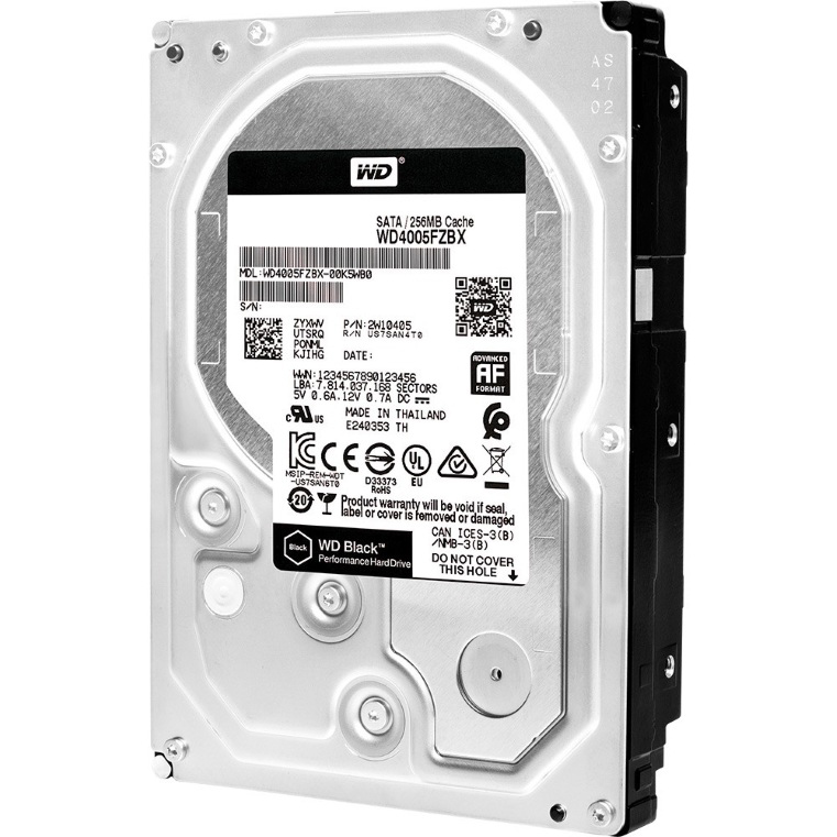 WD HDD Black 500GB 3.5