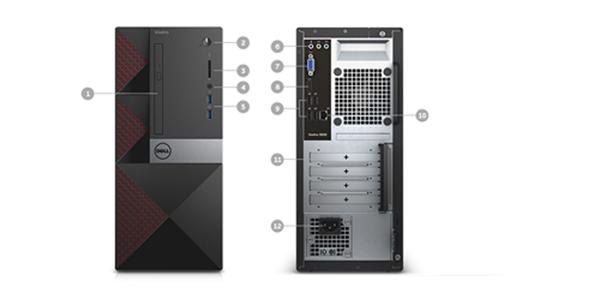 Máy tính để bàn Dell OptiPlex 3050 SFF 70146444