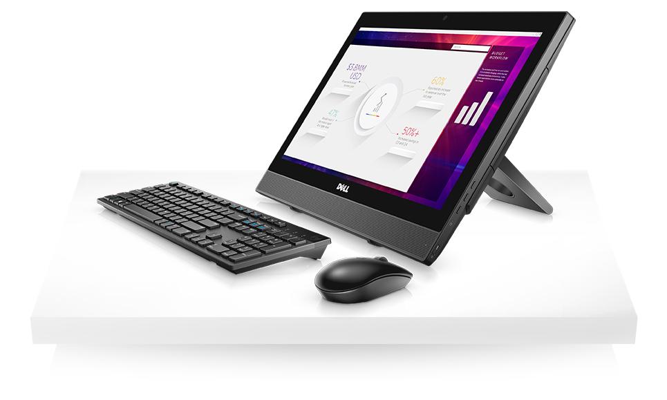 Máy tính tích hợp màn hình Dell Optiplex 3050: i3-7100T/4G/500G/19