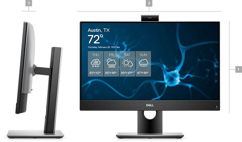 Máy tính tích hợp màn hình Dell Optiplex AIO 7480 i5