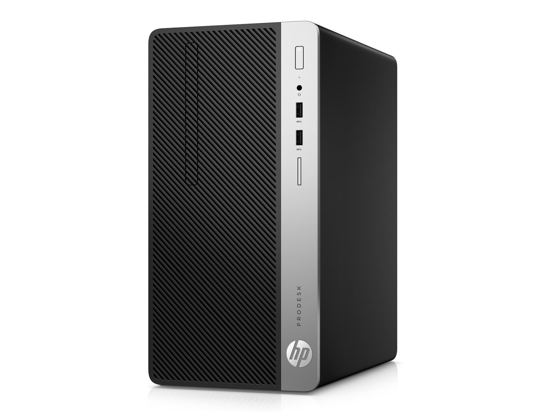 Máy tính để bàn (PC) HP ProDesk 400 G5 MT i5-8500(6*3.0)/4GD4/1T7/DVDRW/KB/M/ĐEN/DOS/2G_R7-430 (4ST34PA)