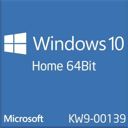 Win Home 10 64Bit Eng Intl 1pk DSP OEI DVD KW9-00139
