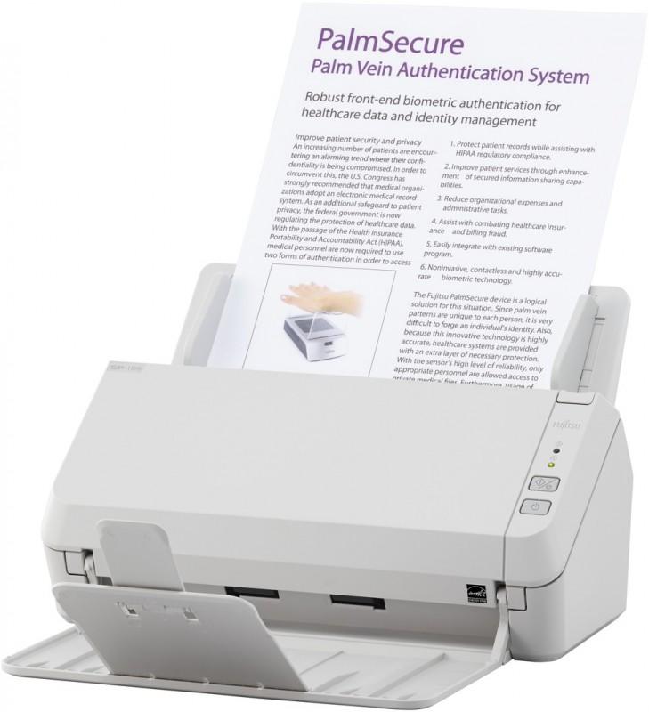 Máy quét 2 mặt, tốc độ 20ppm/40ipm (quét màu, 300dpi), khay  giấy 50 tờ, công suất 3000 tờ/ngày. Kết nối USB 2.0. OCR: ABBYY FineReader 12 Sprint, hỗ trợ font tiếng Việt