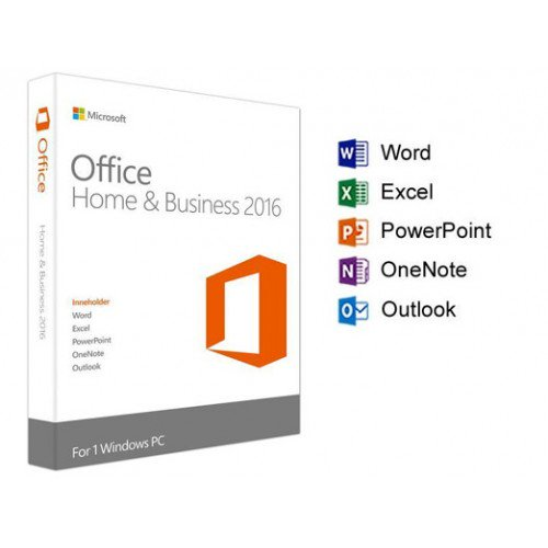Office Home and Business 2016 32-bit/x64 English APAC EM DVD _P2_T5D-02695