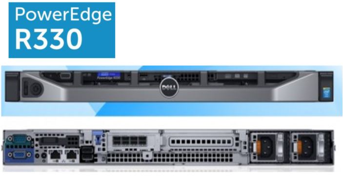 Máy chủ Dell PowerEdge R330 (4x3.5