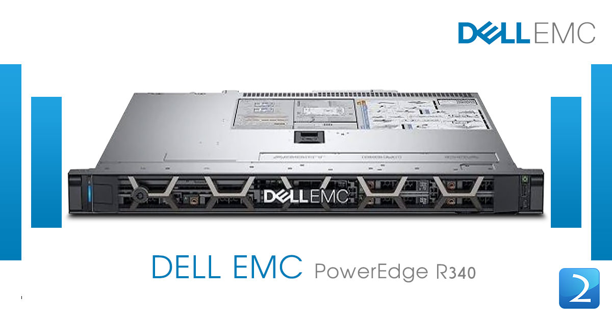 Dell PowerEdge R340 Server (4x3.5