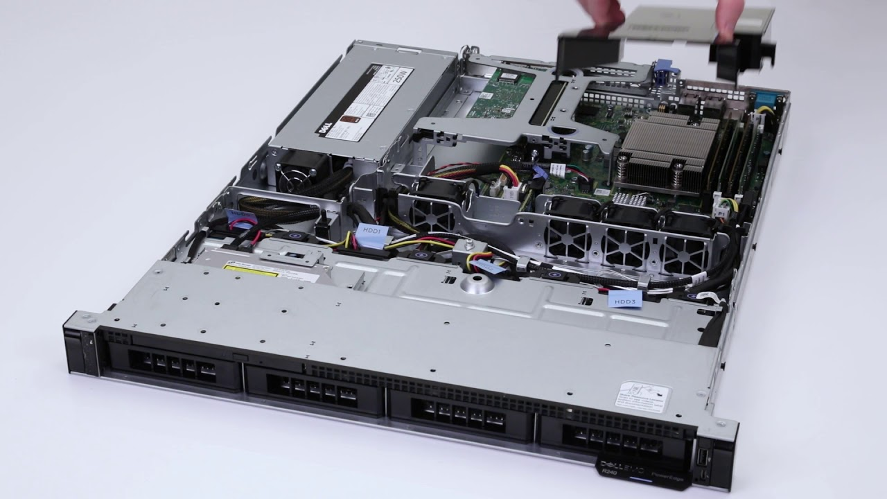 Máy chủ Dell PowerEdge R340 Server (Chassis 4x3.5