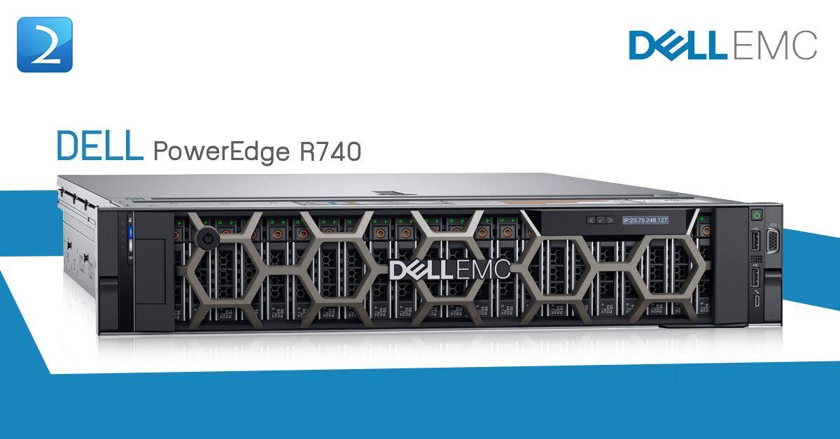 Dell PE R740 (8x2 5