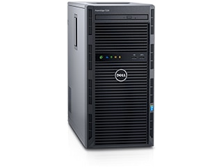 Dell PowerEdge T130 E3-1220 v6, 8GB, Non HDD 3.5'' Cabled, H330, DVDRW, 2x1GBE, iDRAC8 Basic, 3Yrs Pro