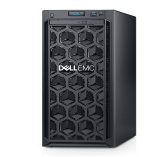 Dell PE T140 (Mini Tower)/E-2124/8GB/2TB/DVDRW/BC5720 DP 1GB/iDRAC9 Ba/365W/3Yr Pro