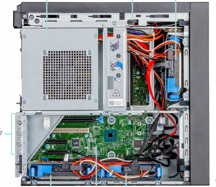Máy chủ Dell PowerEdge T40 Server (3x3.5