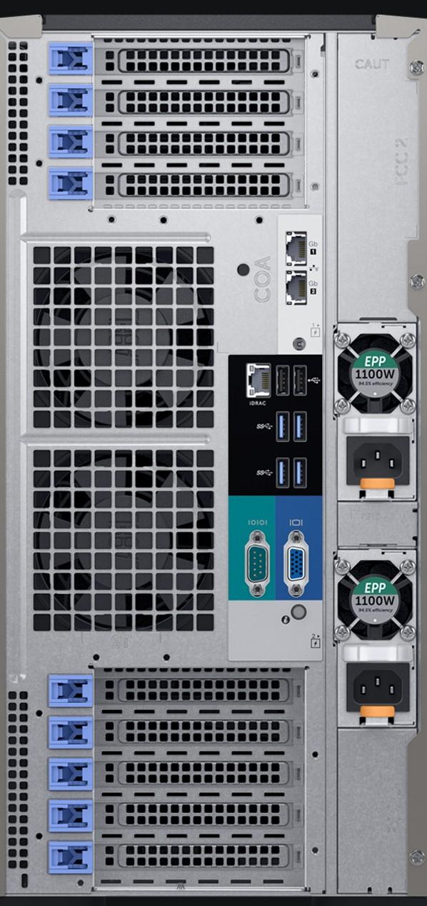 Dell PowerEdge T640 Server [ Silver 4210R, 2.4TB, 4 Year]