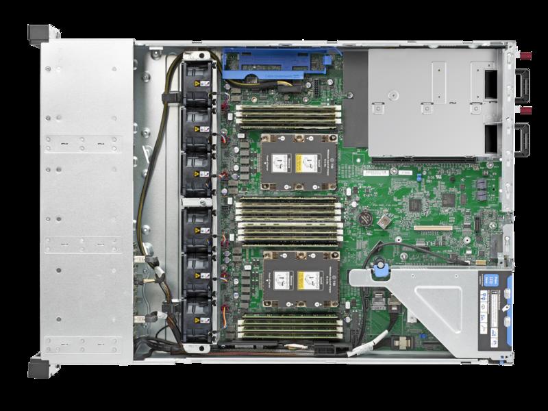 HPE ProLiant DL180 Gen10 4110 2.1GHz 8-core 1P 16GB-R S100i 8SFF 1x500W PS Server