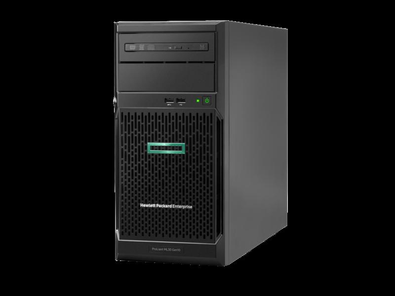 Máy chủ HPE ML30 Gen10 4LFF NON Hot Plug/ E2224 (3.4GHz/4-core/71W)/ 8GB/ 1TB HDD/ S100i/ 350W PS