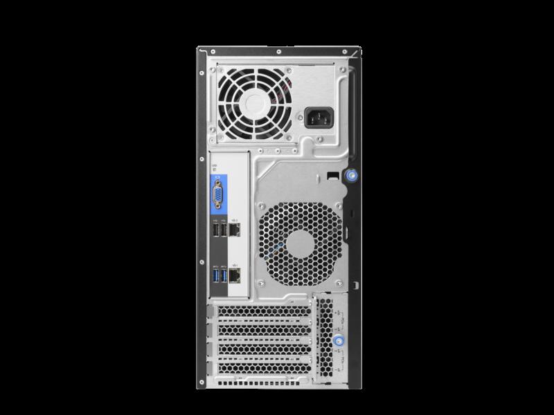 HPE ProLiant ML30 Gen9 E3-1220v6 8GB-U B140i 4LFF 350W PS Server P03704-375