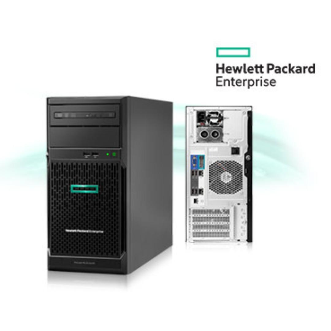 Máy chủ HPE ML30 Gen10 4LFF NON Hot Plug/ E2224 (3.4GHz/4-core/71W)/ 8GB/ 1TB HDD/ S100i/ 350W PS