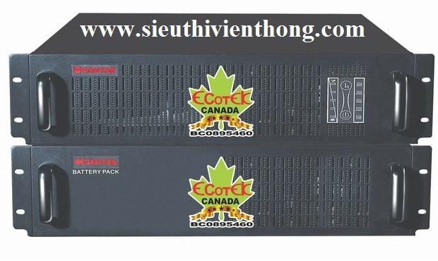 UPS Santak Online C3KR rackmount True      3kVA / 2.1kW - dùng cho mọi thiết bị <2.1KW, lắp trong tủ mạng