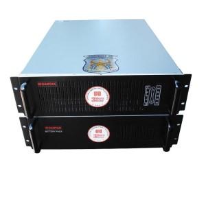Bộ lưu điện Santak C6K  LCD   - Tower, White  6kVA / 5.4kW - ( Có option mở rộng để kết nối song song )