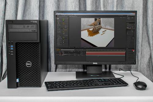 Những lý do chọn máy trạm Dell cho văn phòng thiết kế