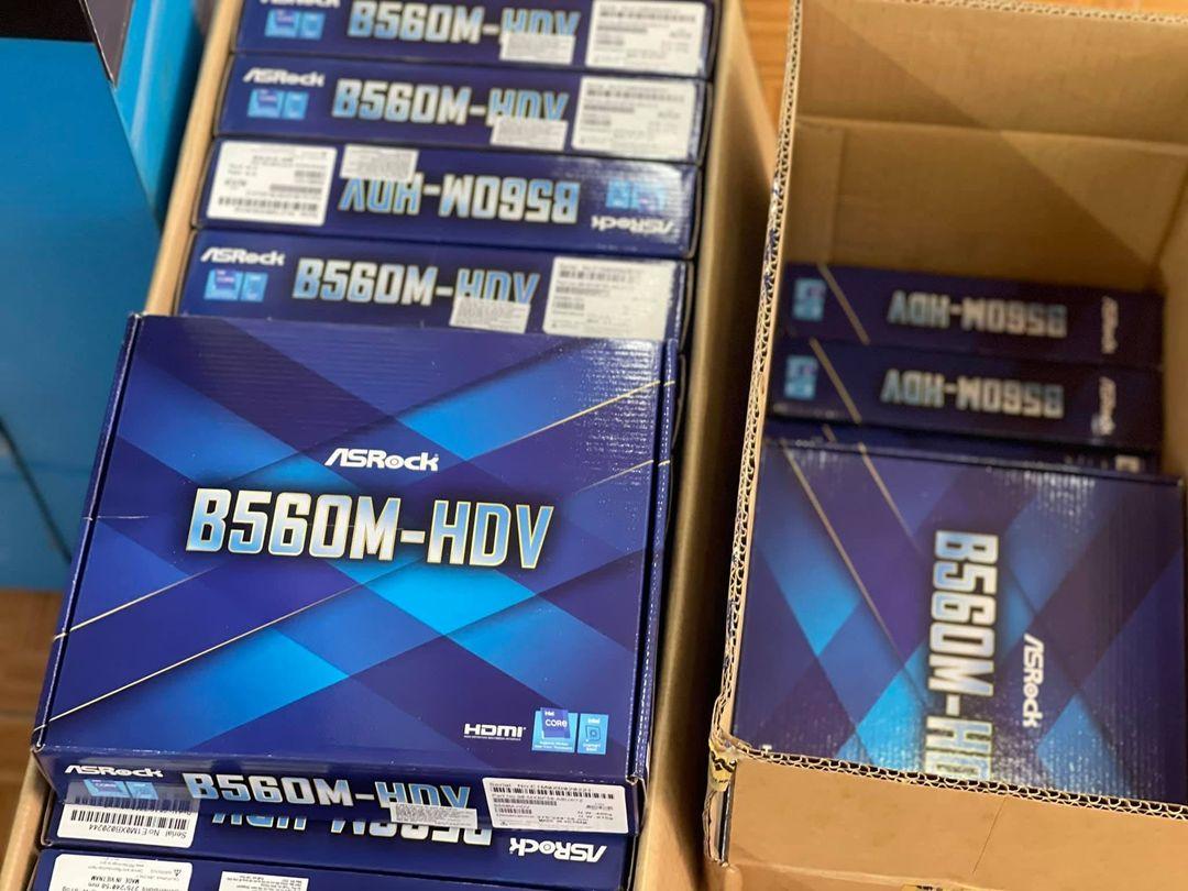Mainboard ASROCK B560M-HDV là bo mạch chủ sử dụng chipset B560 của Intel thuộc phân khúc trung cấp của ASRock