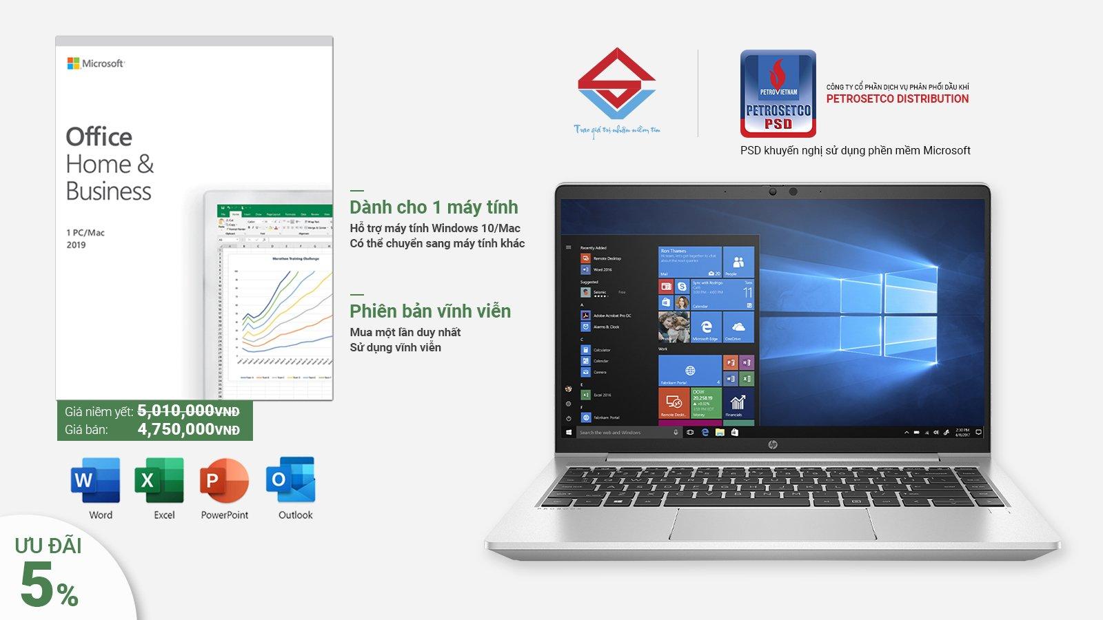 Tự tin tiến bước với Windows và Office bản quyền