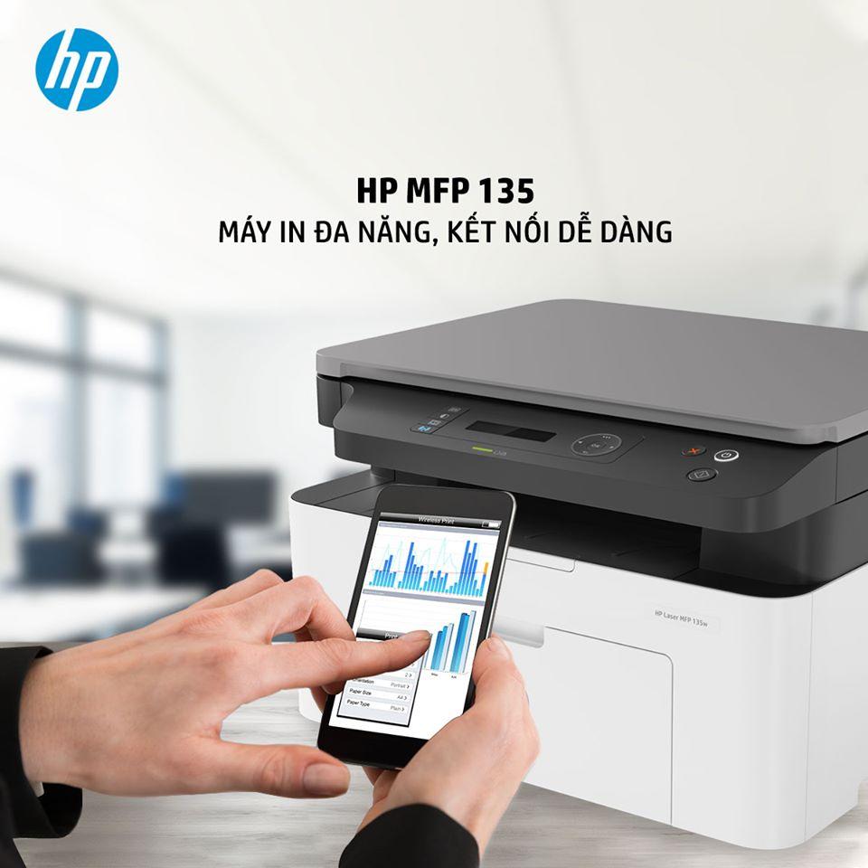 HP MFP 135 - MÁY IN ĐA NĂNG, KẾT NỐI DỄ DÀNG.
