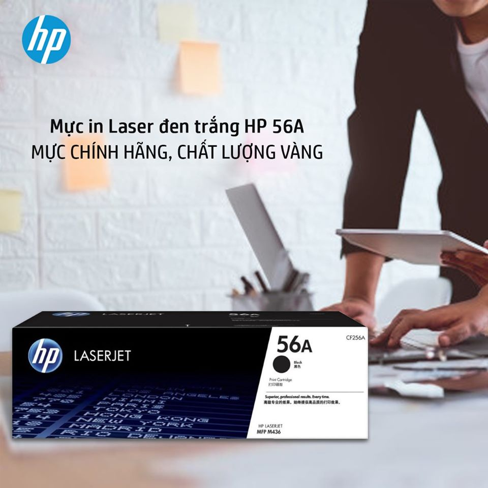 Mực in Laser đen trắng HP 56A MỰC CHÍNH HÃNG, CHẤT LƯỢNG VÀNG